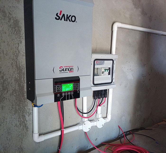 Lắp đặt hệ thống điện mặt trời độc lập 3KW cho anh Vững ở Đồng Nai 11