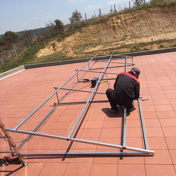 Lắp đặt hệ thống điện mặt trời độc lập 3KW cho anh Vững ở Đồng Nai 2