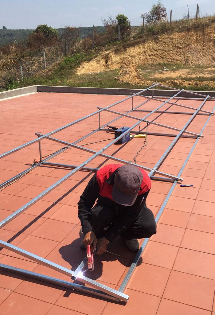 Lắp đặt hệ thống điện mặt trời độc lập 3KW cho anh Vững ở Đồng Nai 3