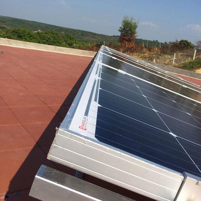 Lắp đặt hệ thống điện mặt trời độc lập 3KW cho anh Vững ở Đồng Nai 9