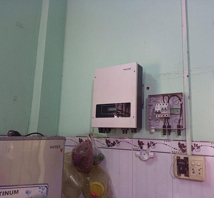 Hoàn thành xong hệ thống điện mặt trời 3 KW cho cô Khâm ở Tây Ninh 7