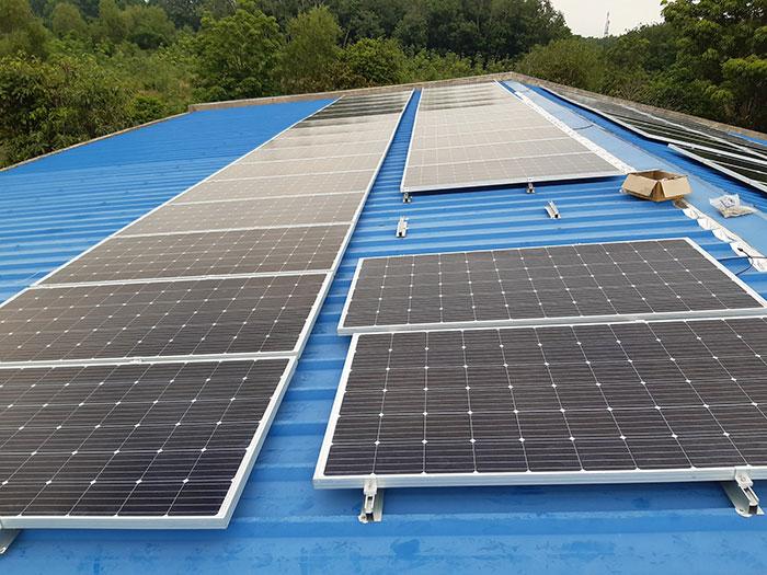 Lắp hệ thống điện mặt trời hòa lưới 40KW cho Chú Thái ở Củ Chi 1