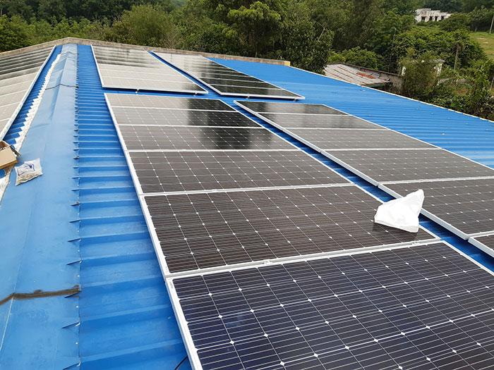 Lắp hệ thống điện mặt trời hòa lưới 40KW cho Chú Thái ở Củ Chi 2