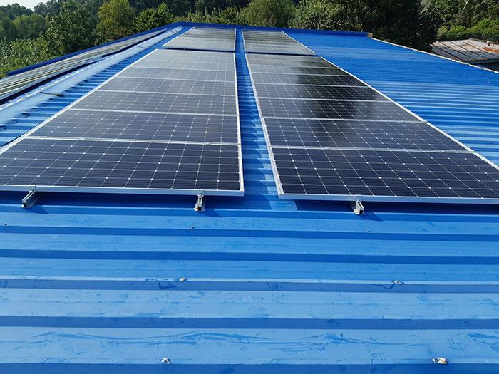 Lắp hệ thống điện mặt trời hòa lưới 40KW cho Chú Thái ở Củ Chi 4