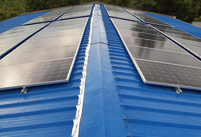 Lắp hệ thống điện mặt trời hòa lưới 40KW cho Chú Thái ở Củ Chi 5