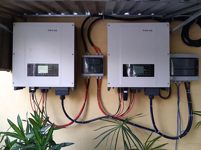 Lắp hệ thống điện mặt trời hòa lưới 40KW cho Chú Thái ở Củ Chi 7