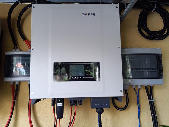 Lắp hệ thống điện mặt trời hòa lưới 40KW cho Chú Thái ở Củ Chi 8