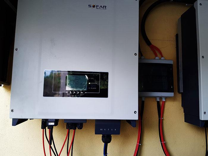 Lắp hệ thống điện mặt trời hòa lưới 40KW cho Chú Thái ở Củ Chi 9