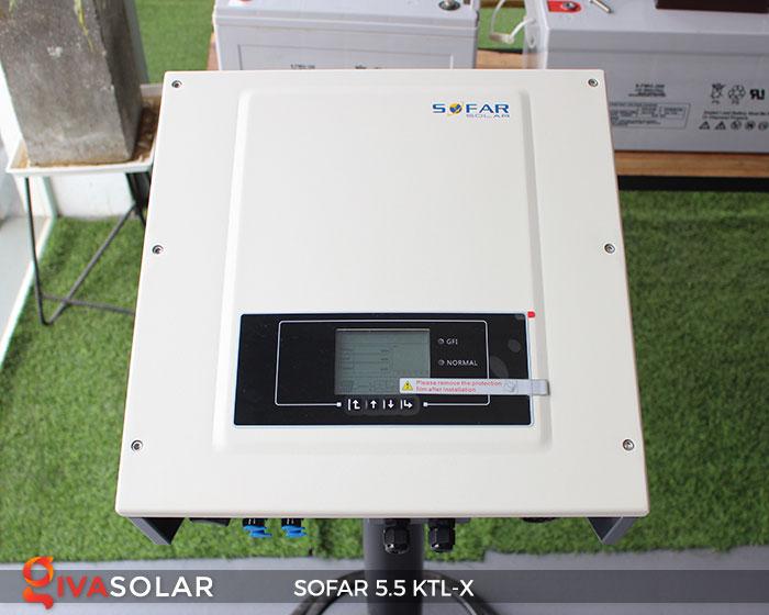 Biến tần hòa lưới 3 pha Sofar 5.5 KTL-X 1