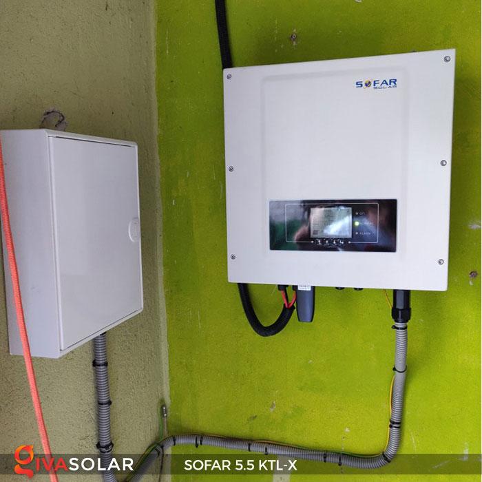 Biến tần hòa lưới 3 pha Sofar 5.5 KTL-X 10