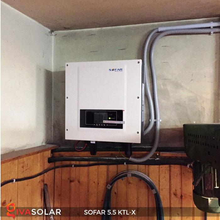 Biến tần hòa lưới 3 pha Sofar 5.5 KTL-X 11