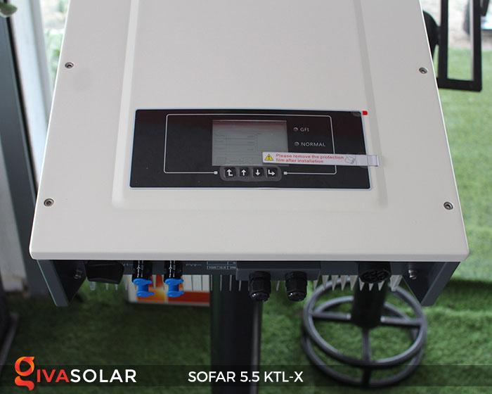 Biến tần hòa lưới 3 pha Sofar 5.5 KTL-X 13