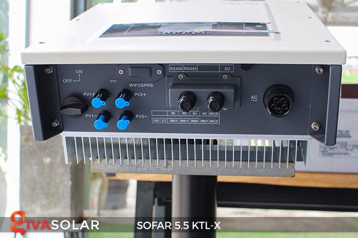 Biến tần hòa lưới 3 pha Sofar 5.5 KTL-X 15