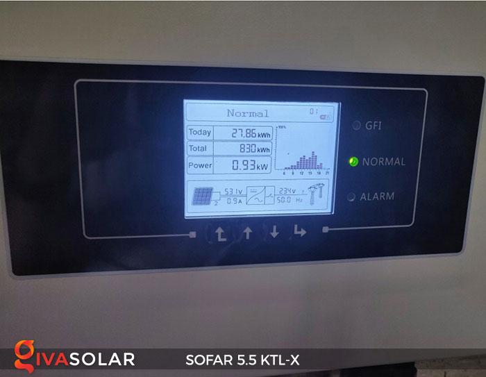 Biến tần hòa lưới 3 pha Sofar 5.5 KTL-X 18