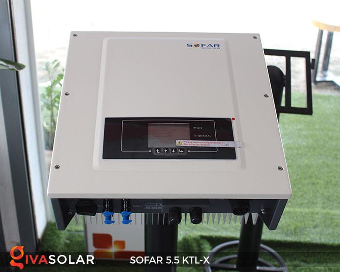 Biến tần hòa lưới 3 pha Sofar 5.5 KTL-X 2