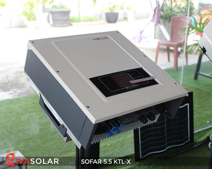 Biến tần hòa lưới 3 pha Sofar 5.5 KTL-X 3