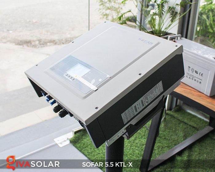 Biến tần hòa lưới 3 pha Sofar 5.5 KTL-X 4