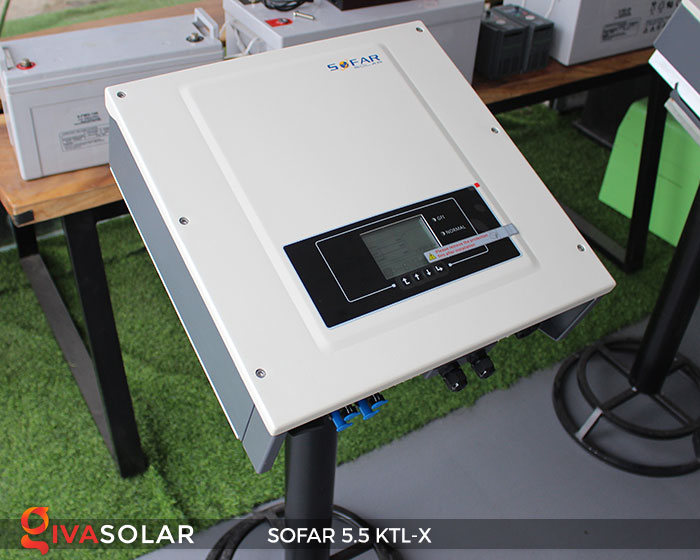 Biến tần hòa lưới 3 pha Sofar 5.5 KTL-X 5
