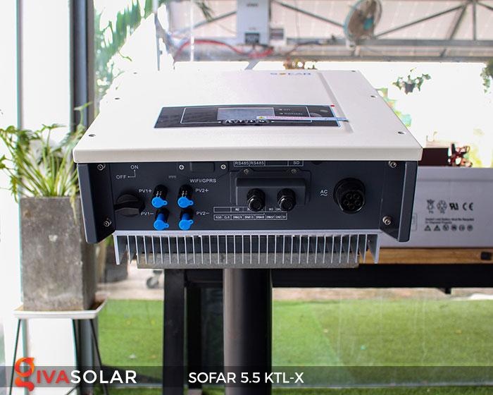 Biến tần hòa lưới 3 pha Sofar 5.5 KTL-X 7