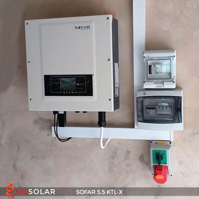 Biến tần hòa lưới 3 pha Sofar 5.5 KTL-X 8
