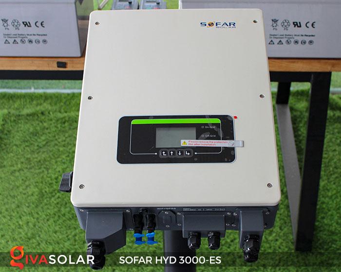 Biến tần hòa lưới có lưu trữ Sofar HYD 3000-ES 1