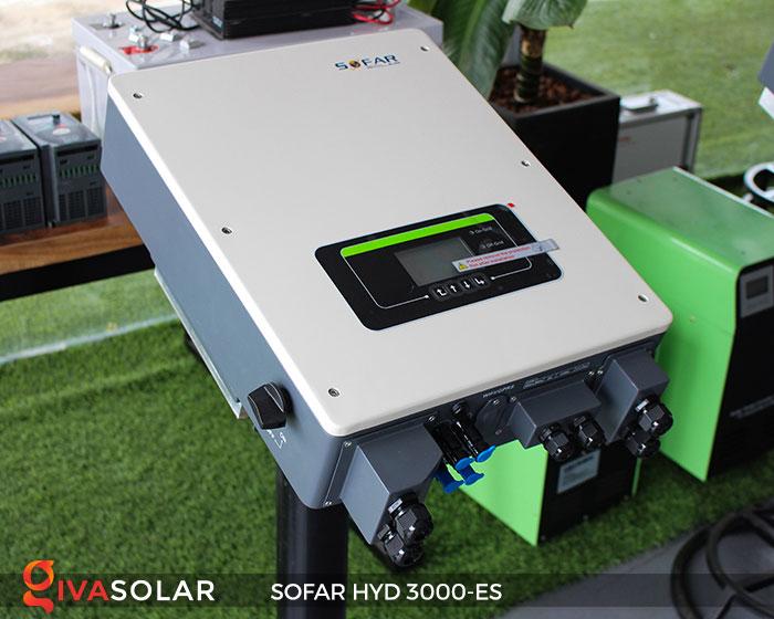 Biến tần hòa lưới có lưu trữ Sofar HYD 3000-ES 2