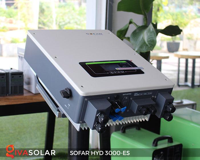 Biến tần hòa lưới có lưu trữ Sofar HYD 3000-ES 3