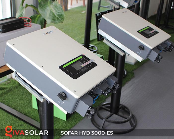 Biến tần hòa lưới có lưu trữ Sofar HYD 3000-ES 4