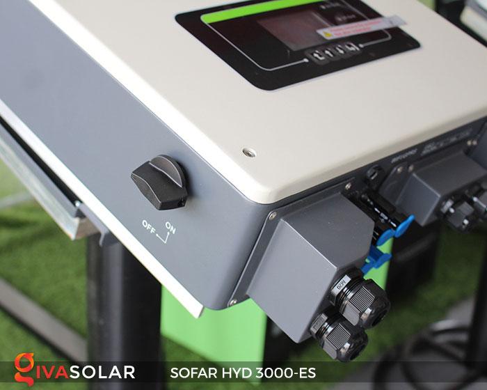 Biến tần hòa lưới có lưu trữ Sofar HYD 3000-ES 6