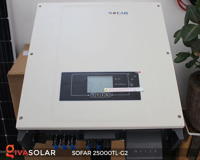 Biến tần năng lượng mặt trời Sofar 25000TL-G2 1