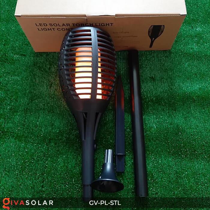 Đèn ngọn lửa trang trí năng lượng mặt trời GV-PL-STL 1