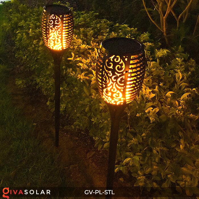Đèn ngọn lửa trang trí năng lượng mặt trời GV-PL-STL 11