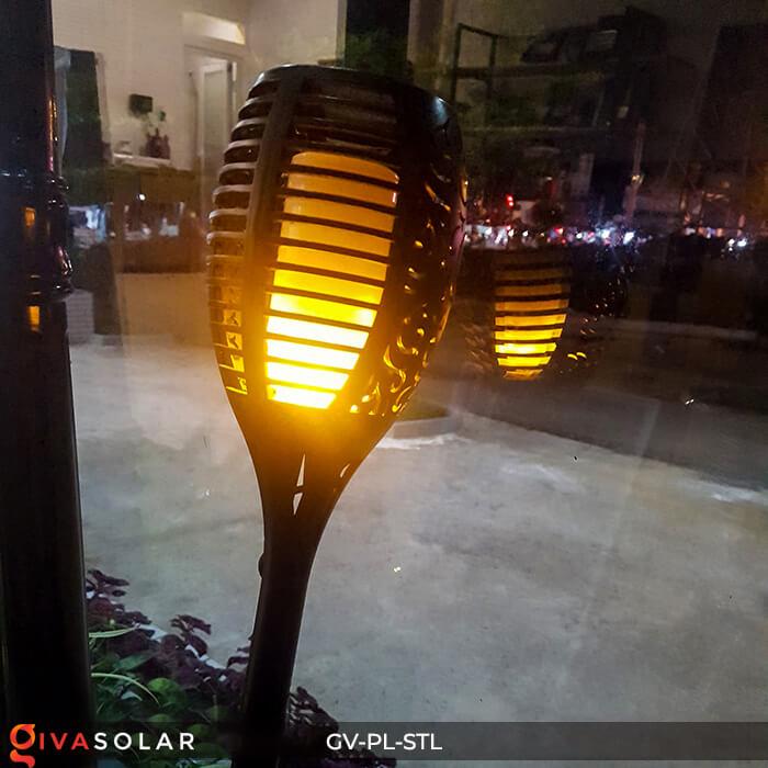 Đèn ngọn lửa trang trí năng lượng mặt trời GV-PL-STL 14