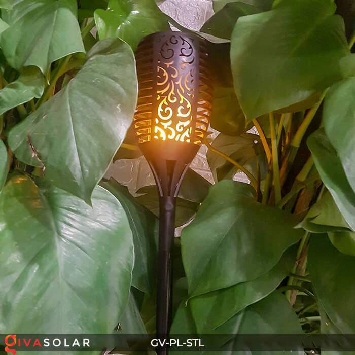 Đèn ngọn lửa trang trí năng lượng mặt trời GV-PL-STL 15