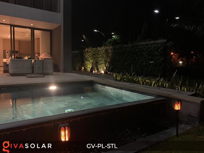 Đèn ngọn lửa trang trí năng lượng mặt trời GV-PL-STL 16