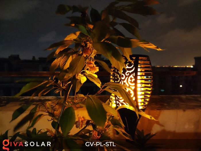 Đèn ngọn lửa trang trí năng lượng mặt trời GV-PL-STL 7