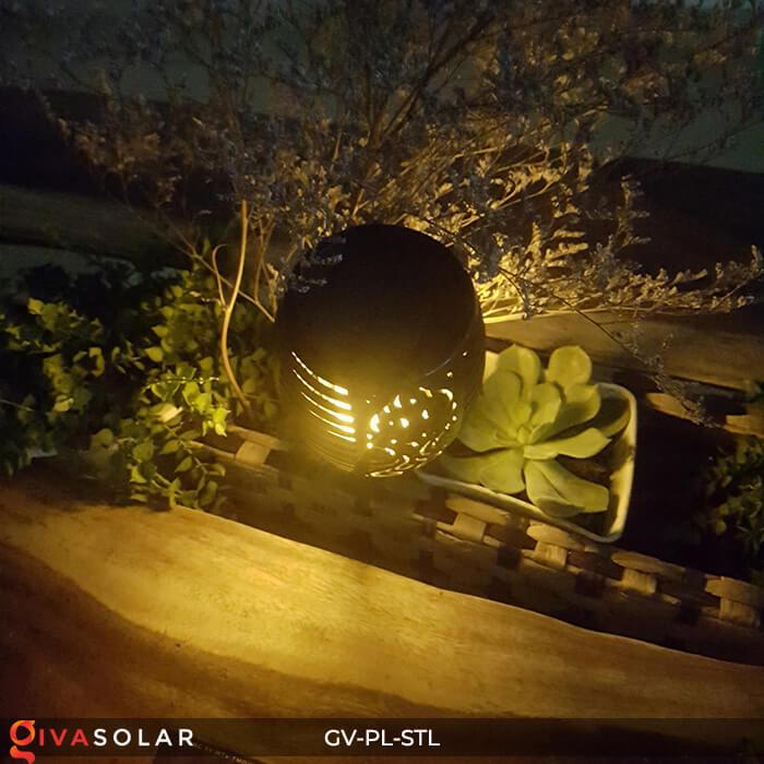 Đèn ngọn lửa trang trí năng lượng mặt trời GV-PL-STL 8