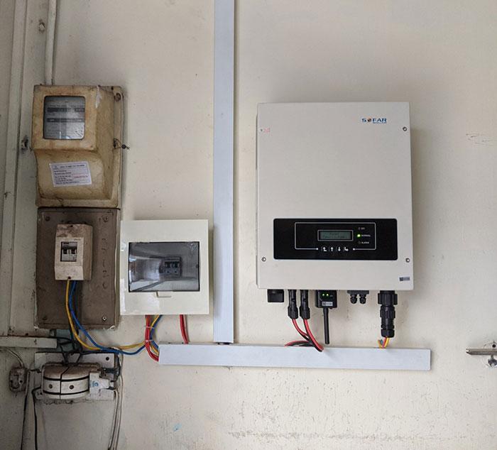 dự án điện mặt trời hòa lưới 4KW cho chú Quang Quận 3 6