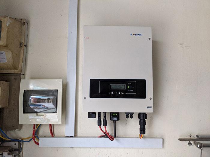dự án điện mặt trời hòa lưới 4KW cho chú Quang Quận 3 7