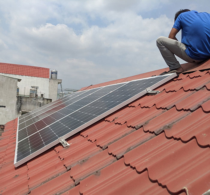 Hoàn thành dự án điện mặt trời hòa lưới 5 kWp cho anh Khang ở Quận 9 1