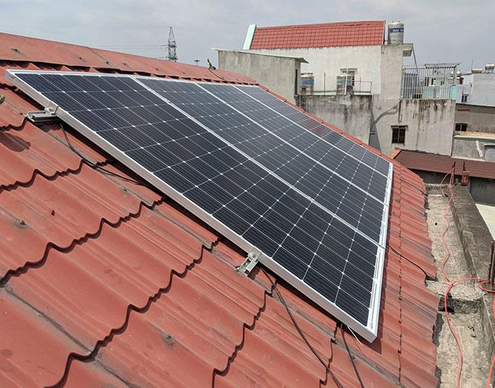 Hoàn thành dự án điện mặt trời hòa lưới 5 kWp cho anh Khang ở Quận 9 2
