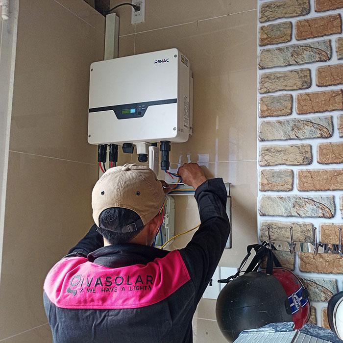 Hoàn thành dự án điện mặt trời hòa lưới 5 kWp cho anh Khang ở Quận 9 6