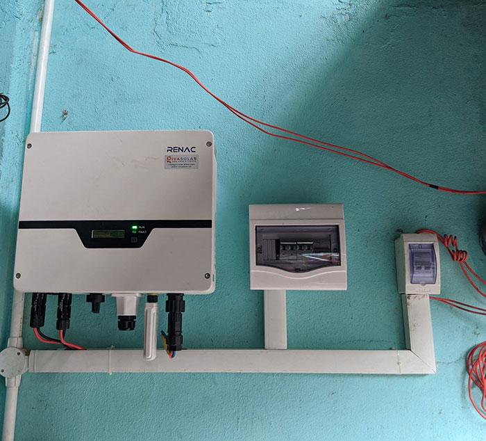 Hoàn thành dự án điện mặt trời hòa lưới 5 kWp cho anh Khang ở Quận 9 8