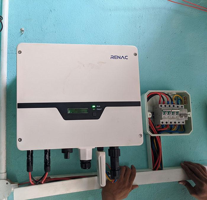 Hoàn thành dự án điện mặt trời hòa lưới 5 kWp cho anh Khang ở Quận 9 9