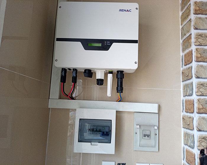 Dự án điện mặt trời hòa lưới 5KW cho anh Liệt ở Bình Tân 6