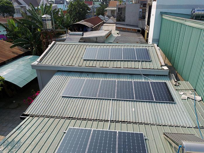 Dự án điện mặt trời hòa lưới 5KW cho anh Minh ở Bình Dương 1