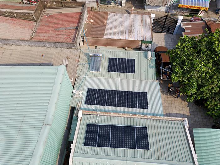 Dự án điện mặt trời hòa lưới 5KW cho anh Minh ở Bình Dương 2