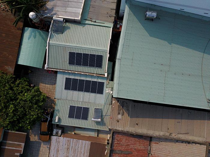 Dự án điện mặt trời hòa lưới 5KW cho anh Minh ở Bình Dương 3