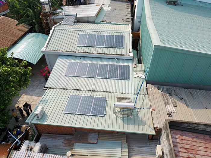 Dự án điện mặt trời hòa lưới 5KW cho anh Minh ở Bình Dương 4