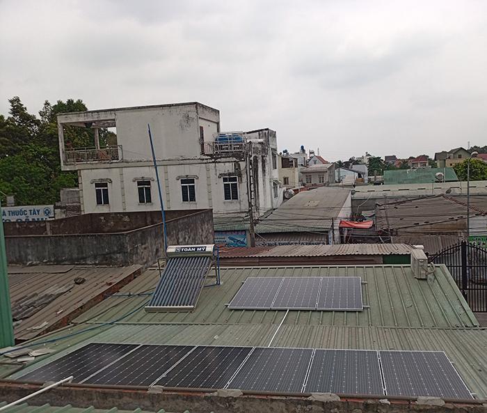 Dự án điện mặt trời hòa lưới 5KW cho anh Minh ở Bình Dương 5